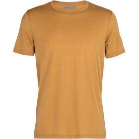 Icebreaker Tech Lite Crew Top T-shirt Heren, coyote